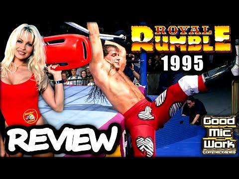 WWE Royal Rumble 1995 Review | Bret Hart vs Diesel | Shawn Michaels and Pamela Anderson!