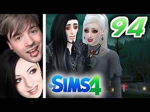 The Sims 4   Episode 94 - NEW VAMPIRE FAMILY!   MetalAssGaming