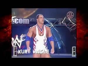 Kane vs Kurt Angle Hardcore Title Match 4/9/01