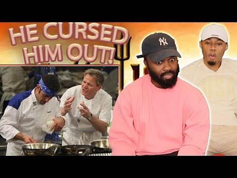 He Cursed Him Out!! Gordon Ramsay BEST INSULTS And Funny Moments Reaction