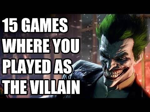 15 Video Games Where You Played As The Villain...And You Totally Loved It