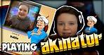 AM I ON THIS GAME???? | Talking To Akinator! The Web Genius