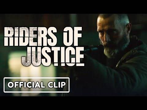 Riders of Justice - Official Clip (2021) Mads Mikkelsen
