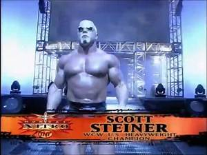 Championship Match- Goldberg vs Jeff Jarrett vs Kevin Nash vs Scott Steiner- WCW Nitro