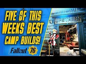 THIS WEEKS TOP 5 CAMPS! | Fallout 76 Camp Tour