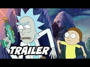 Rick and Morty Season 4 Trailer Official Easter Eggs and Jokes Breakdown