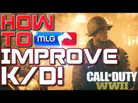 How to Improve Your K/D FAST in COD WWII (Call of Duty World War 2 Tips and Tricks) (Get Better KD)