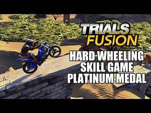 Trials Fusion Hard Wheeling Skill Game Platinum Medal Experts Club With Commentary 1080P