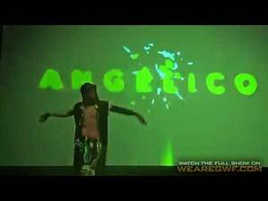 Angélico Entrance at GWF Light Heavyweight World Cup 2018