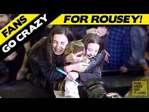 UFC 193: Fans go crazy for Ronda Rousey in Melbourne, Australia