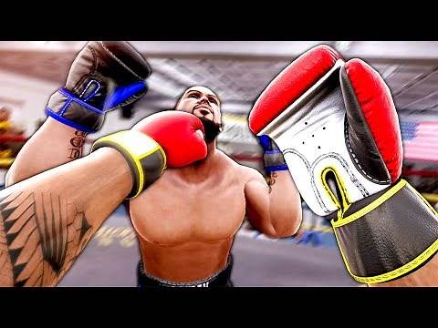 KNOCKING OUT My Friend in VR - Creed: Rise to Glory Multiplayer