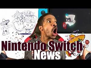 Epic Nintendo Switch News - Super Mario Odyssey Review - Injustice 2 - WWE 2K18