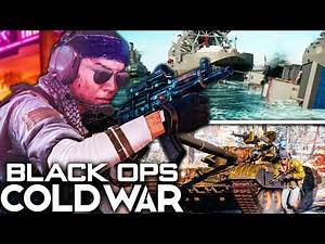 BLACK OPS COLD WAR MULTIPLAYER REVEALED! (Vehicles, Maps, & MORE!)