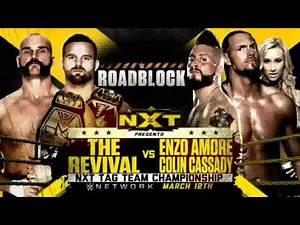 WWE RoadBlock 2016 Match Cards (V1)