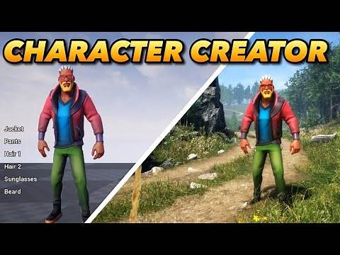 FREE DOWNLOAD: Character Customization in Unreal Engine 4 - UE4 Character Creator Tutorial