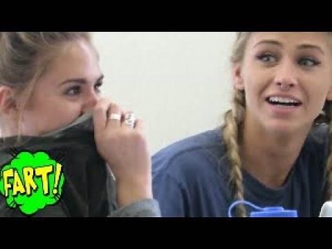 Funny Wet Fart Prank With The Sharter Toy | Best of college