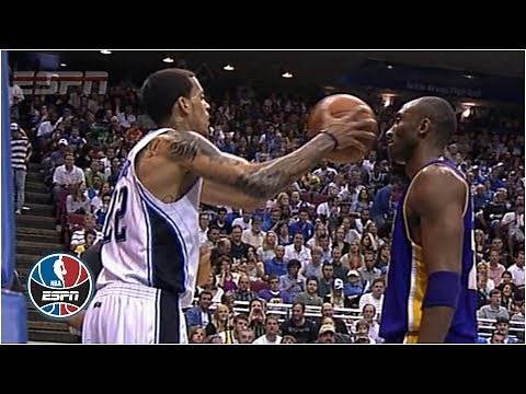 Kobe Bryant doesn't flinch when Matt Barnes fakes pass at his face | NBA Highlights