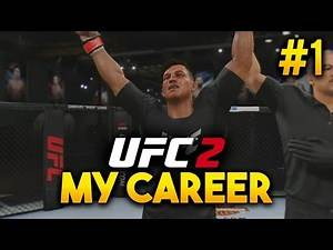 UFC 2 My Career Mode - Ep. 1 - ENTERING THE ULTIMATE FIGHTER!