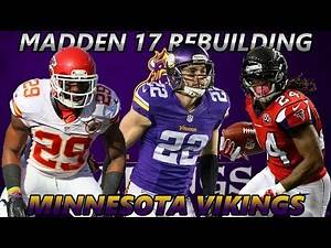 Madden 17 Connected Franchise | Rebuilding The Minnesota Vikings | AP Leaves The Vikings?
