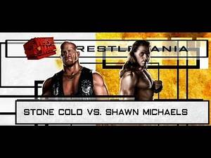 WWE '13 Steve Austin vs. Shawn Michaels 3/29/1998 (Austin 3:16) WrestleMania XIV