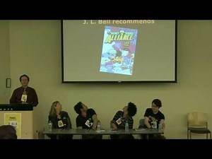 Weird Great Comics For Kids: a Panel Discussion