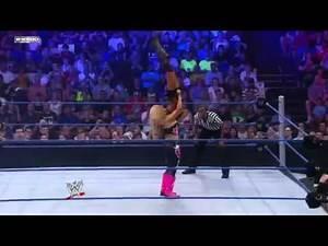 Alicia Fox Vs. Natalya - WWE Superstars 7 21 11