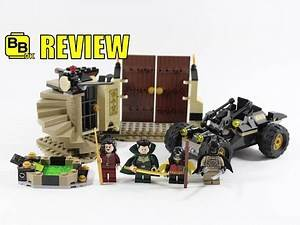 LEGO BATMAN RESCUE FROM RA'S AL GHUL 76056 SET REVIEW
