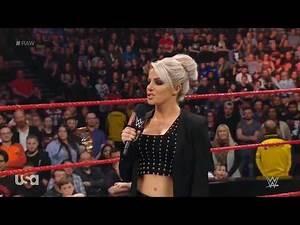 Kurt Angle returns to Monday Night Raw as he interrupts Alexa Bliss - WWE Raw 11/5/18