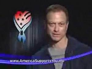 Gary Sinise Thanks the Troops