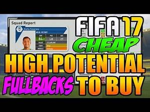 FIFA 17 Career Mode Best Cheap Young FULLBACKS To Buy: THE CHEAP LUKE SHAW
