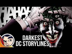 10 DC Comics Story lines Too Dark For Today   Comicstorian