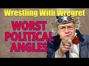 Top 8 Worst Political Angles | Wrestling With Wregret