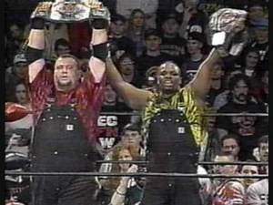 ECW Tag Team Title History