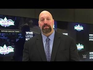 Big Show on the honor of inducting Mark Henry into the WWE Hall of Fame