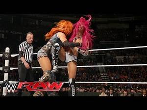 Becky Lynch vs. Sasha Banks - Divas Championship No. 1 Contender's Match: Raw, February 29, 2016