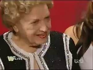 WWE Raw Old School Miss-Mae Young Vs Lay-Cool 11-15-2010