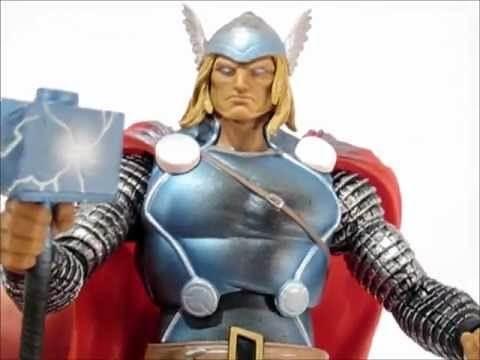 SDCC Exclusive Marvel Legends THOR Action Figure Review