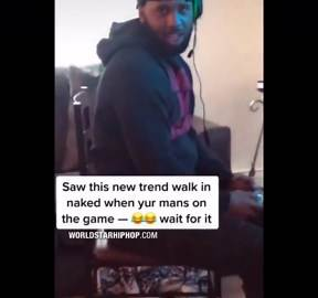 New Challenge Has Women Walking In Front Of Their Boyfriends Naked When They're Playing Video Games!
