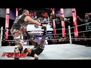 The Dudley Boyz vs. Bo Dallas & Curtis Axel: Raw, January 25, 2016