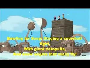 Phineas and Ferb Christmas Vacation!-Winter Vacation Intro Song Lyrics(HD)