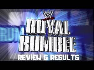 WWE Royal Rumble 2010 Review & Results - EDGE RETURNS AND WINS THE ROYAL RUMBLE MATCH