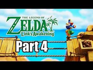 The Legend of Zelda: Link's Awakening Remake - Gameplay Walkthrough Part 4 (No Commentary)