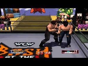 WCW/nWo Revenge - Finishers of secret wrestlers