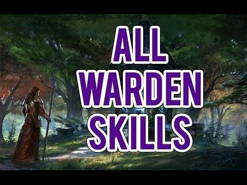 ESO: All Warden Skills! Animal Companions, Green Balance, and Winters Embrace!