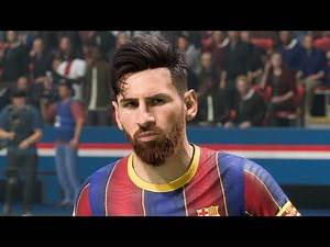 FIFA 21 PC ULTRA SETTNGS GAMEPLAY// Barcelona vs Real Madrid UCL Final