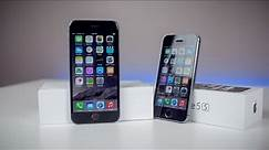 iPhone 6 vs. iPhone 5s - Design Comparison (Space Grey)