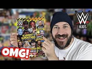 I M ON THE COVER OF WWE KIDS MAGAZINE!!! Halloween Special Issue Review