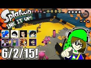 Splatoon - Ink It Up! - 6/2/15! The Comeback Squid!