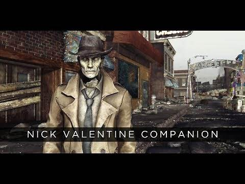 Fallout: New Vegas Mod - Nick Valentine Companion
