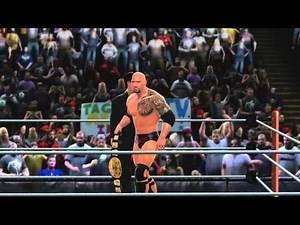 WWE Royal Rumble: The Rock vs CM Punk WWE Championship